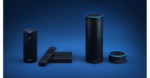 Echo var den första enheten som släpptes av Amazon. Det är en  cylinderformad enhet som är 24 centimeter hög. Den har två högtalare om  cirka två och en halv ... 824aa57261b08