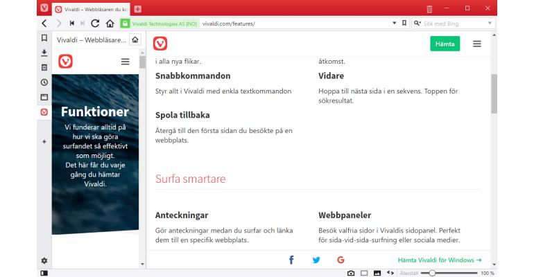 Vivaldi 1.13