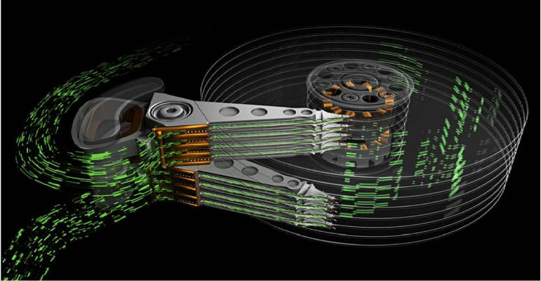 Seagate multi-actuator hårddisk