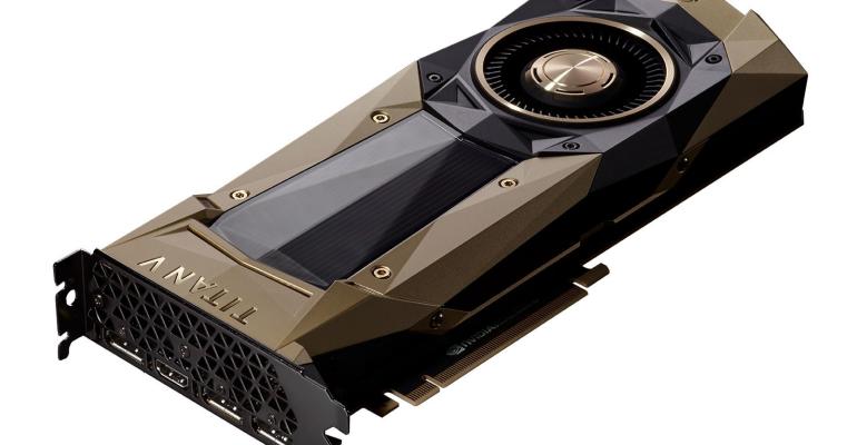 Nvidia Titan V grafikkort