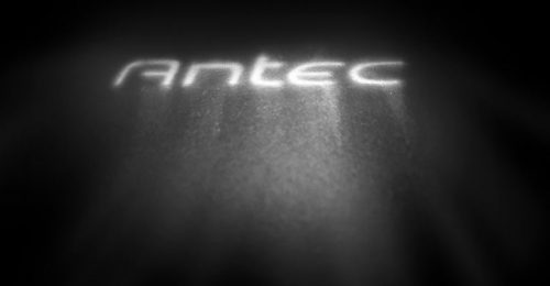 Antec PC logo lighting