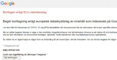 Google EU sekretesslag