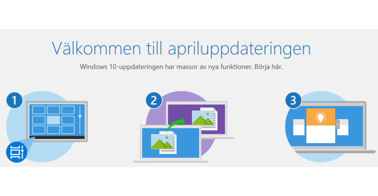 apriluppdateringen, Windows 10 April 2018 Update
