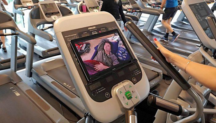 HuaweiMediaPadM5 netflix gym