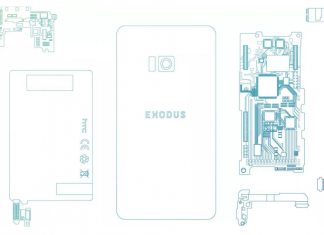 HTC Exodus blockkedjetelefon