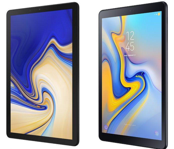 Galaxy Tab S4 och 10.5 A