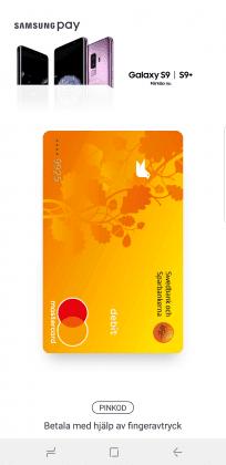 Samsung Pay Swipe Up