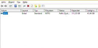 Diskhantering d-disk