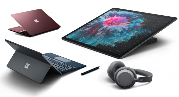 Microsoft Surface-nyheter