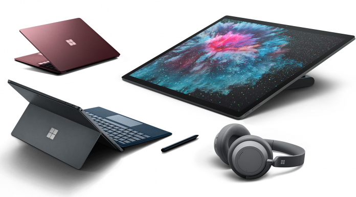 Microsoft Surface-nyheter