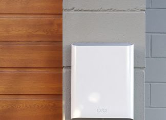 Wi-Fi utomhus med Orbi Outdoor Satellite