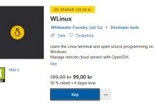 Wlinux Microsoft Store