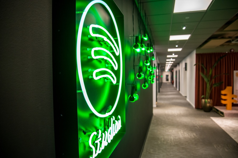 Spotifykontoret Stockholm