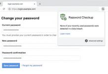 Chrome Password Checkup