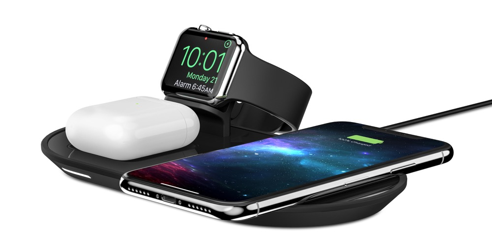 Nytt Airpower alternativ ???Mophie 3 in 1 wireless charging