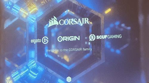 Corsair, Elgato, Origin och Scuf gaming