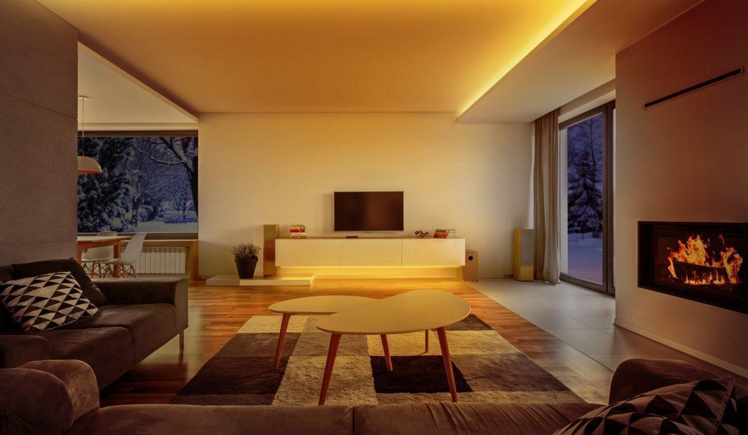 Ljusslinga i hemmet