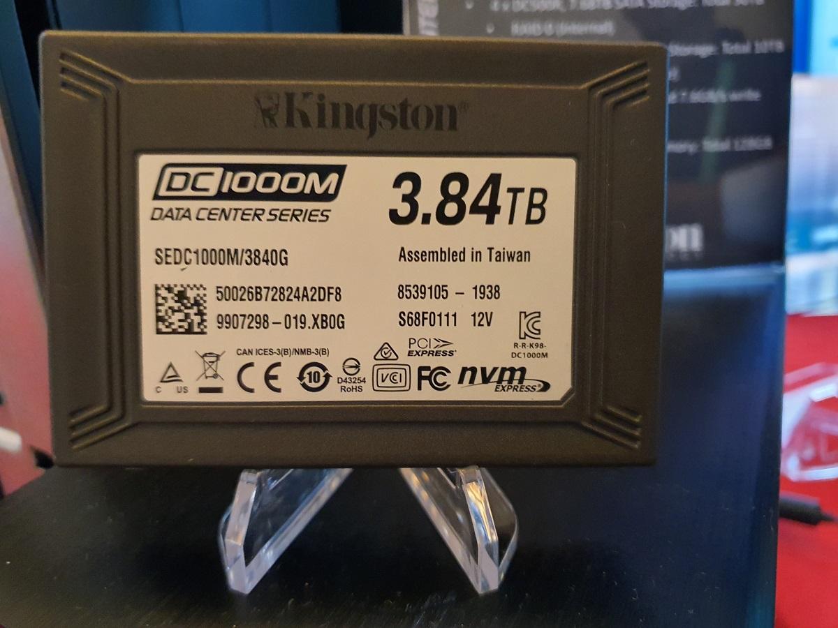 Kingston DC1000M, CES 2020