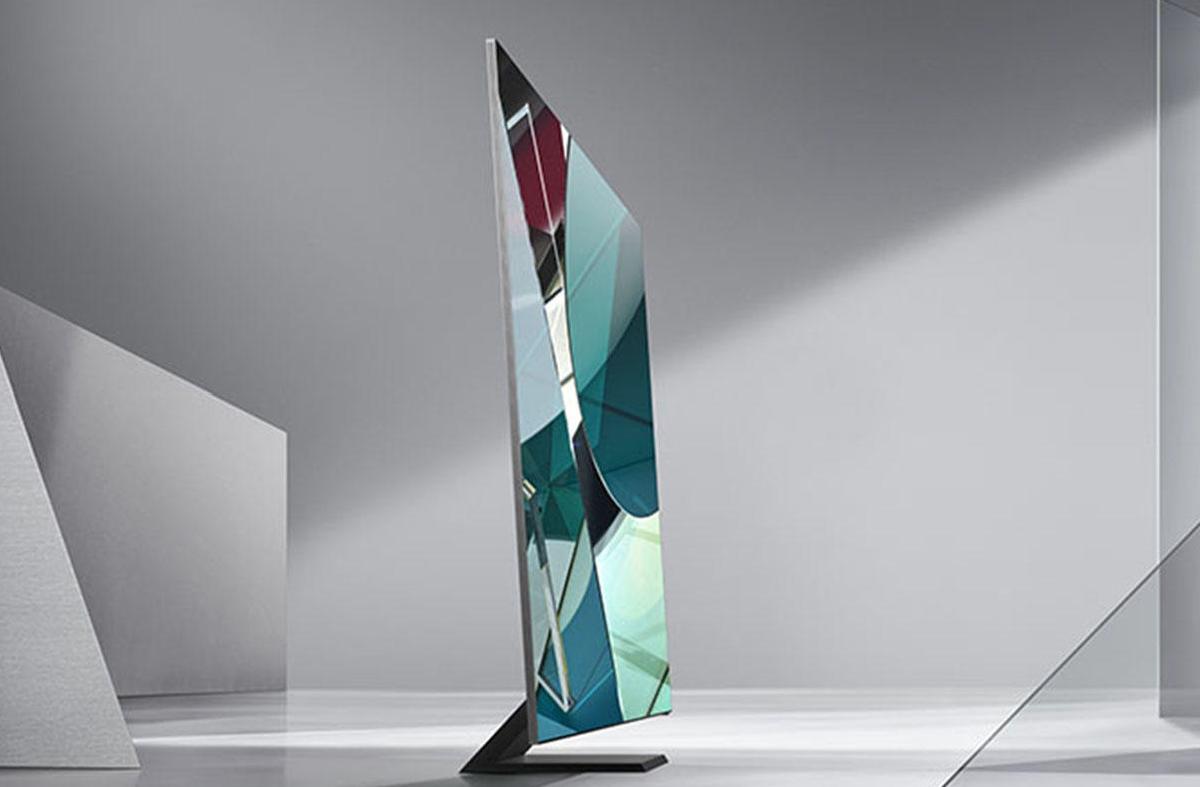 Samsungs nya QN50TS-TV, CES 2020