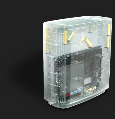 Asus ZenWiFi XT8 antennas