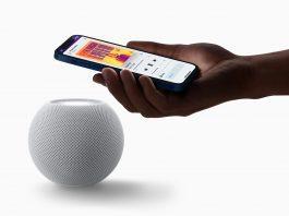 Apple Homepod Mini med Iphone 12