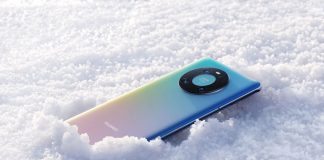 Mate 40 Pro in the snow