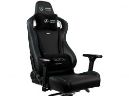 Noblechairs EPIC Mercedes-AMG Petronas Formula One Team