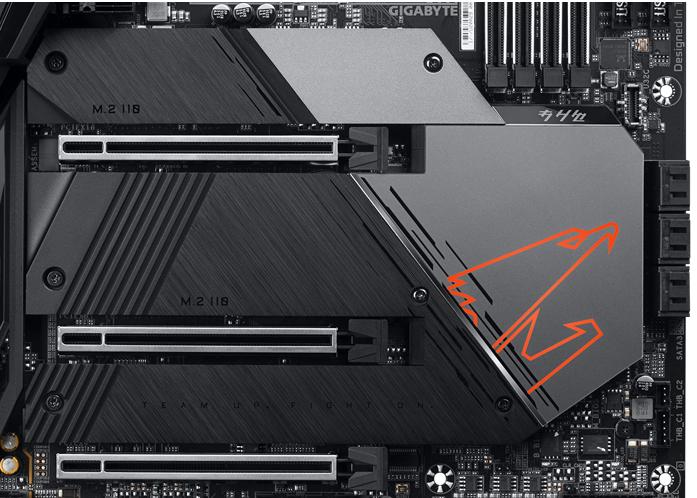 PCIe – Gigabyte Z590 Aorus Master