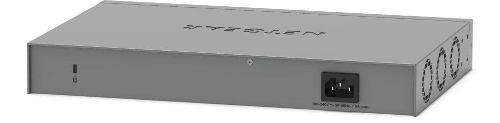 Netgear MS510TXUP - baksida