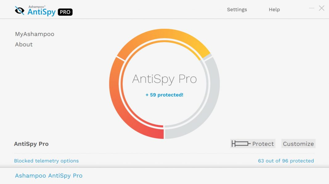Ashampoo Antispy Pro