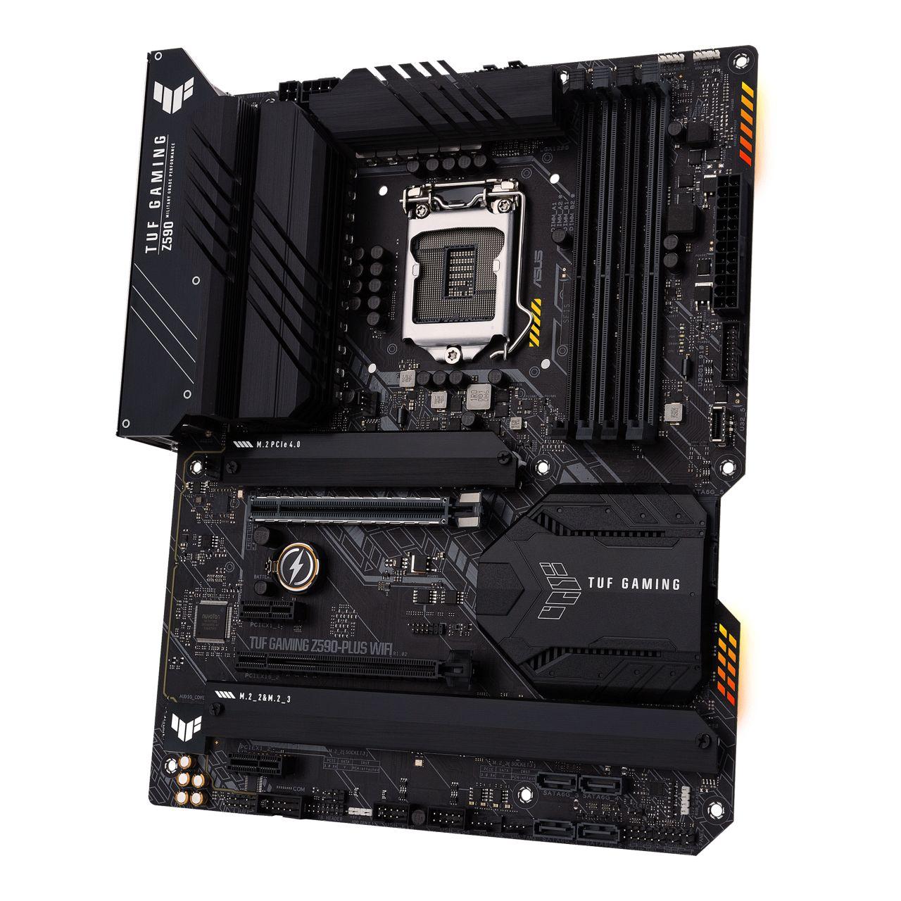 Asus TUF Gaming Z590-Plus WiFi-sidovinkel