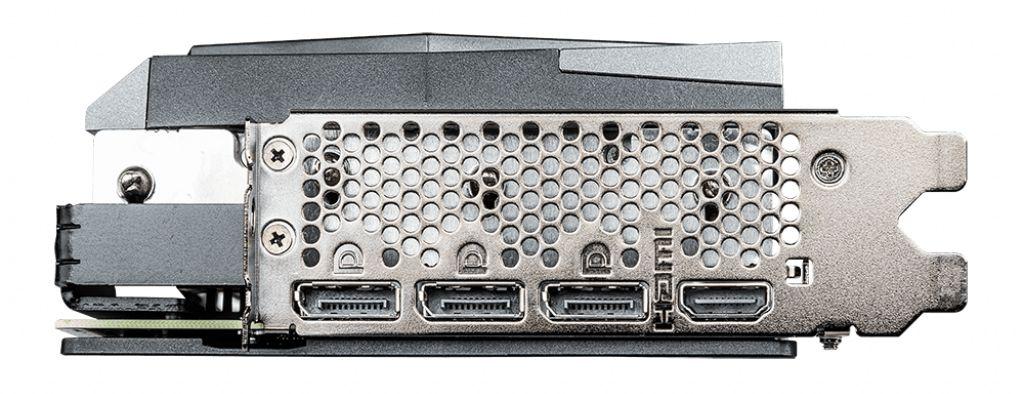 MSI 3070 Gaming X Trio-anslutning