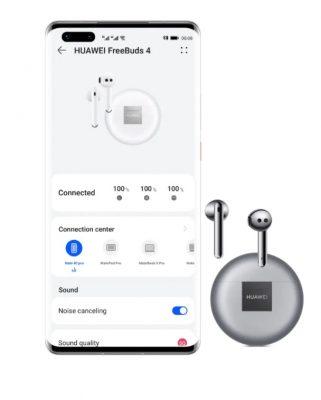 Huawei Freebuds 4 – applikation