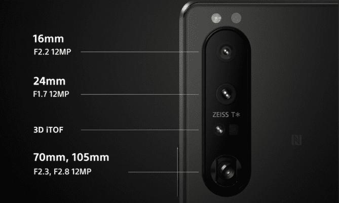 Sony Xperia 1 III – kamera