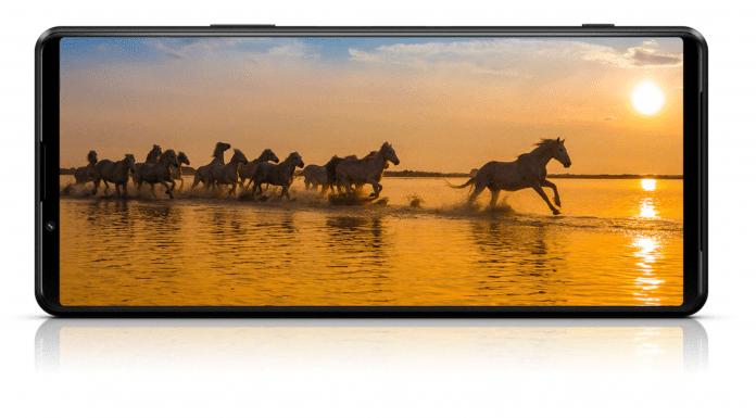 Sony Xperia 1 III – 4K-skärm