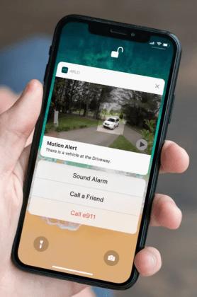 Arlo Ultra 2 – notifiering i mobilen
