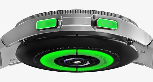 Samsung Galaxy Watch4 Classic – knappar