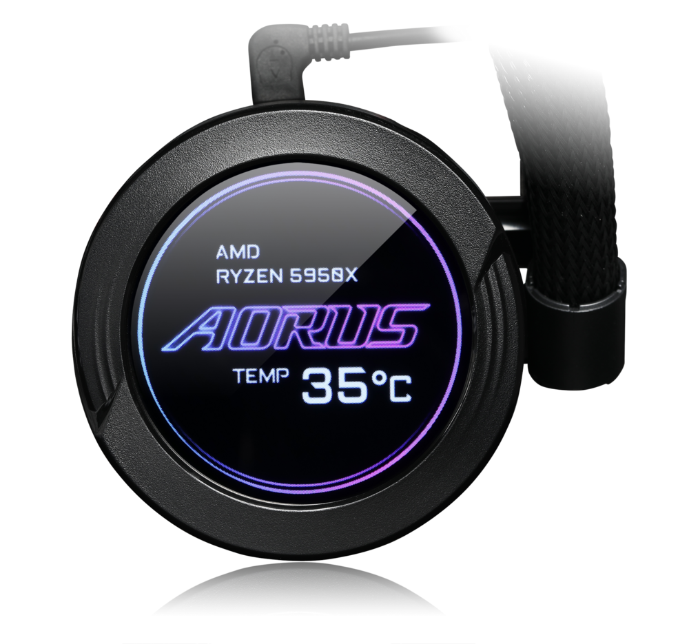 Aorus Waterforce X 360 – LCD