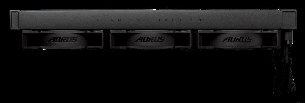 Aorus Waterforce X 360 – radiator