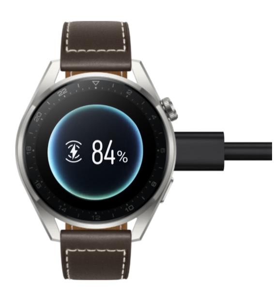 Huawei Watch 3 Pro – trådlös laddning