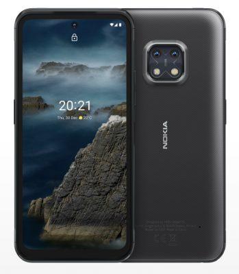 Nokia XR20 5G Rugged – fram- och baksida