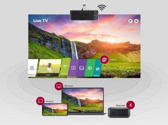 LG Probeam bu50nst – begränsat WebOS