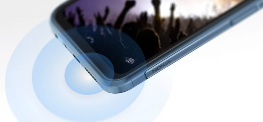 Nokia XR20 5G Rugged – högtalare