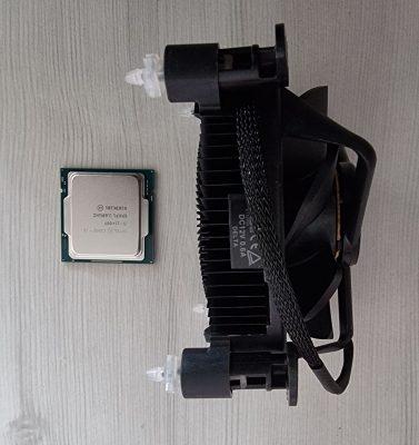 ntel Core i5-11400F – processorkylare på köpet