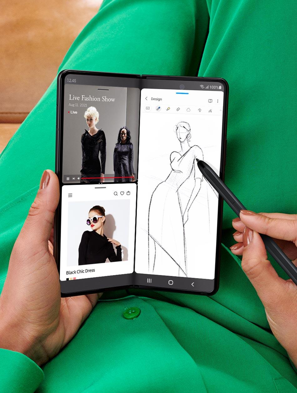 Samsung Galaxy Z Fold 3 – penna