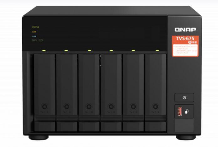 Qnap TVS-675 – front