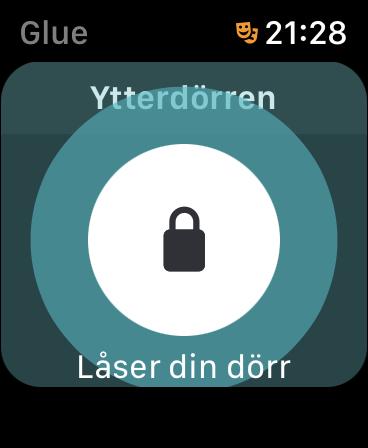 Glue Apple Watch – lås