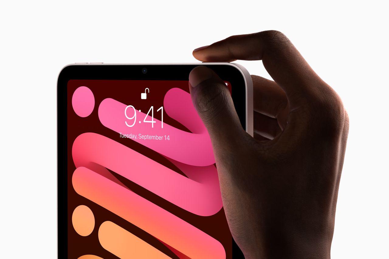 Ipad Mini – fingeravtrycksläsare