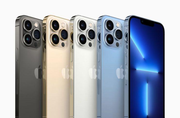 Apple Iphone 13 Pro och Pro Max – färger