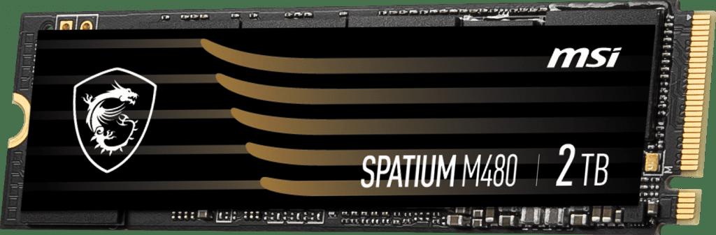 MSI Spatium 480 – utan kylare